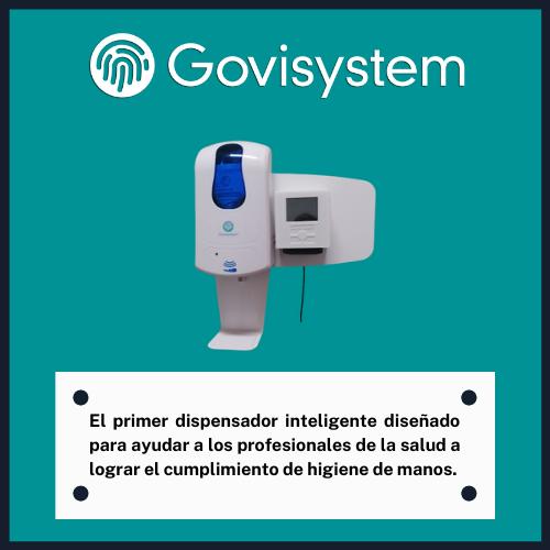 El primer dispensador inteligente diseñado para ayudar a los profesionales de la salud a lograr el cumplimiento de higiene de manos.