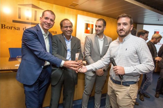 Govisystem gana premio Mejor Proyecto en la Bolsa de Barcelona
